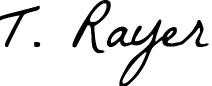 signature thierry rayer